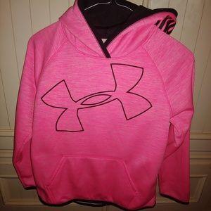 Under Armour Girls Hoodie Sweatshirt Size 8